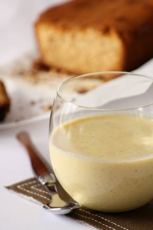 crème anglaise au micro-ondes