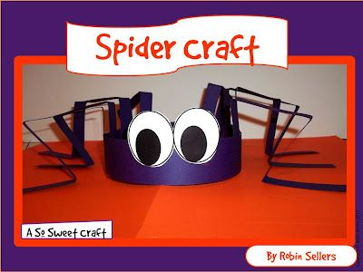 Printable spider hat... for classroom Halloween party?