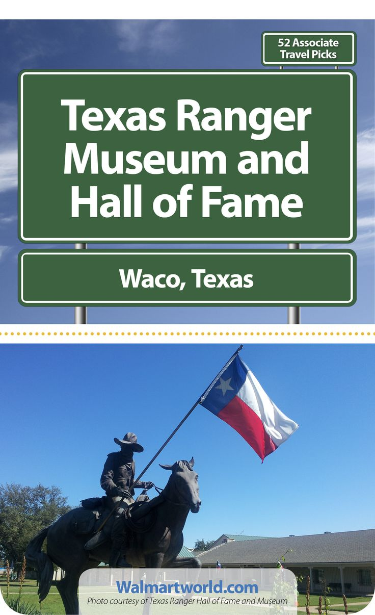 Waco, Texas, is home to the Texas Ranger Museum and Hall of Fame. The rangers have been keeping Texans safe for almost 200 years. James B., an associate at Store 5389 in Waco, Texas, has been to the museum several times and says he learns something new every time. #Texas #Rangers #history #museum  #ThingsToDoIn #travel #trips