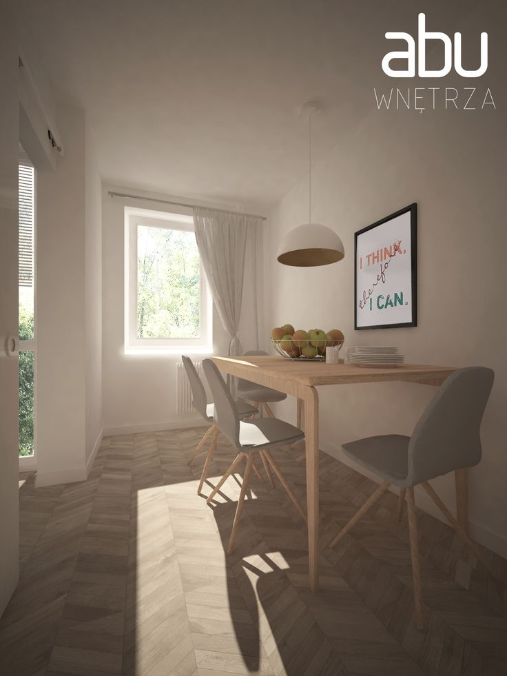 living room, Bemowo, scandinavian style