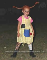Coolest Homemade Pippi Longstocking Costume Ideas