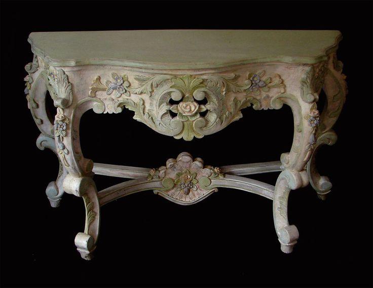 "Original ""Marie Antoinette"" 18th century antique console table. French Rococo #LouisXIIIXIVXVXVI"