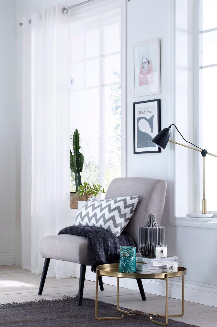 Inredningstips: Läshörna mitt i rummet