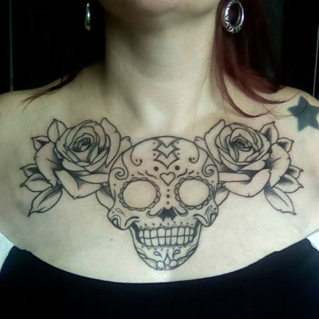 Caveira Mexicana 🌹💀🌹Continua... Art by @lucaslookjarps #levelinktattoo #caveiramexicana #caveira #caveiramexicanatattoo #caveiratattoo #tattoo #tatuagem #skull #skulltattoo #mexicanskull #mexicanskulltattoo #curitibatattoo #curitiba #tattoocuritiba #tatuagemcuritiba