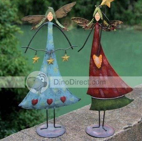 Wholesale Delicate Star Metal Angel Yard Art - DinoDirect.com: Angel Yard, Metals Angel, Handmade Angel