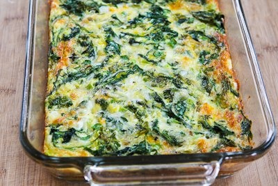 ... Kitchen: Recipe for Baby Kale, Mozzarella, and Egg Bake (and