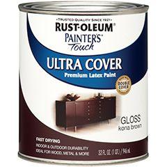 brown floor paint  1922730 - Half Pint - Painter's Touch - Gloss Navy Blue