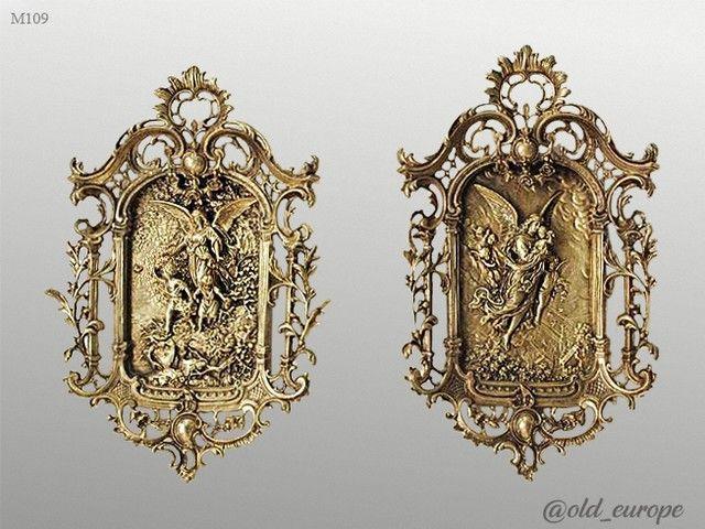 ❌❌❌ Продано! ❌❌❌ Великолепные старинные картины, БРОНЗА! АНГЕЛЫ! ОТЛИЧНОЕ СОСТОЯНИЕ! Размеры: 35 х 56 см. #винтажизевропы #goldeurope #vintage #gold_europe #old_europe #подарок #длямамы #подарокжене #дляжены #др #деньрождения #днюха #1000p