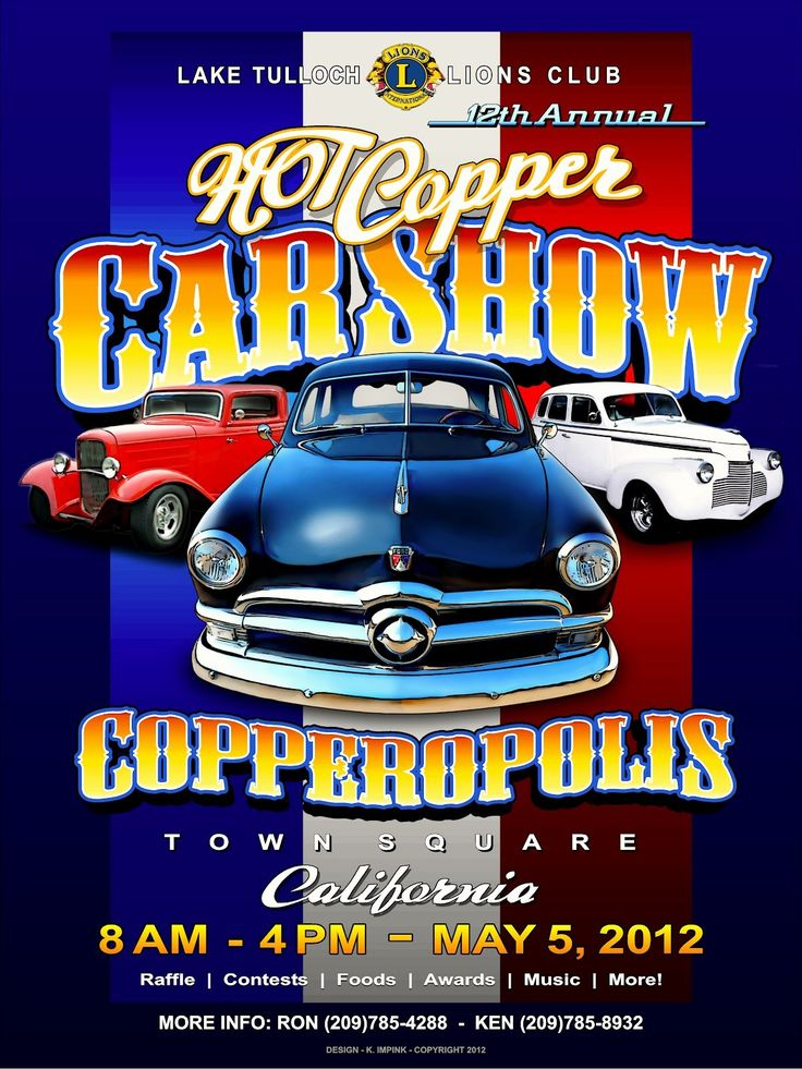 25 Blank Car Show Flyer in 2020 Event template, Flyer