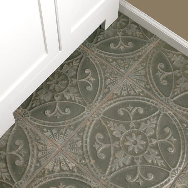 Somertile 13x13 Inch Cantabria Nero Ceramic Floor And Wall Tile 10 Tiles 12 2 Sqft Ceramic Floor Wall Tiles Tiles