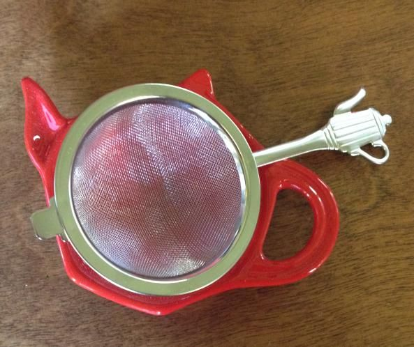 We have lots of different styles of tea strainers, and plenty of pretty tea caddies to hold your strainer or a teabag.