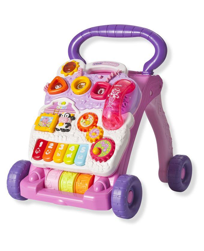 Vtech Baby Walker Roze Meisjes Cadeautje Hoera 1