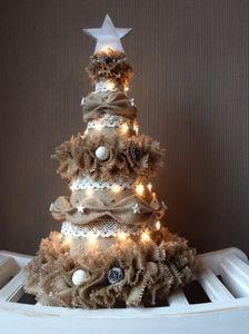 Jute kerstboom eigen ontwerp #kerstboom#jute#christmas#kerst#tree