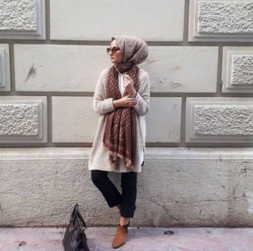 Fashionista winter hijab fashion – Just Trendy Girls