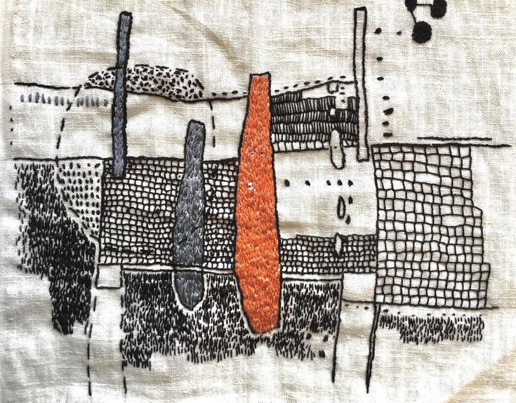 #embroidery #handstitching #linen