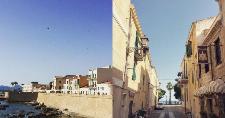 Tarja's Snowland: Sardinia, Italia (rakastan..!) alghero, italy, old town