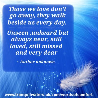 Comforting Poems for the Grief | quotes comfort words of comfort for the bereaved page 3