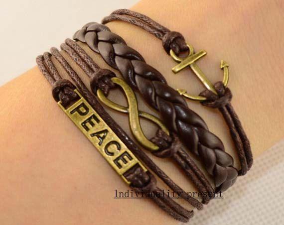 Friendship bracelet infinity bracelet by Individualitypresent, $4.99