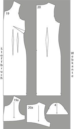 Schnittmuster: Business-Kleid nähen – eine Anleitung