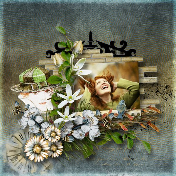 """""""Some Days"""" by Julie Mead Designs https://www.e-scapeandscrap.net/boutique/index.php?main_page=index&cPath=113_121"""