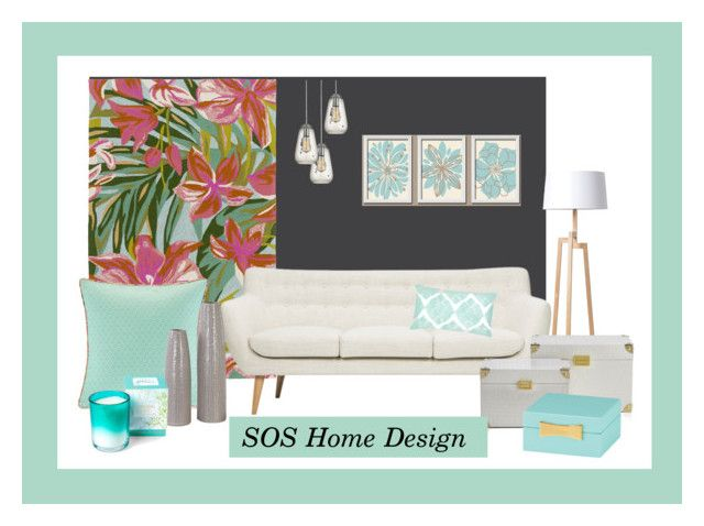 One rug three mood by kata-jancso on Polyvore