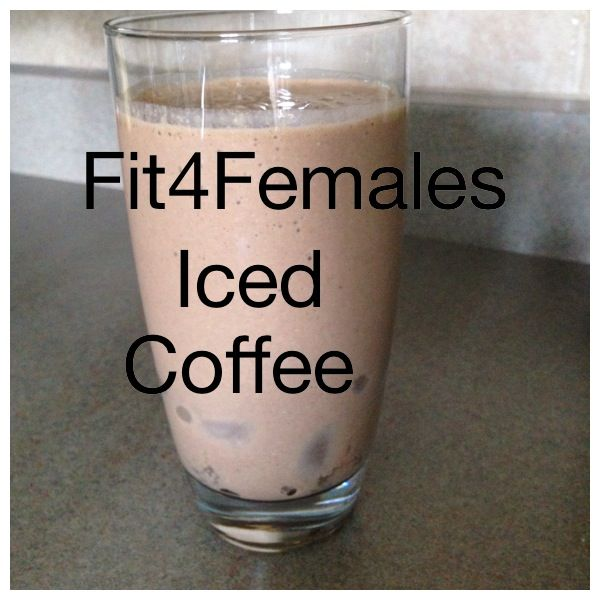 Iced Protein Mocchacino.  Better than an Iced Cap or a Frosty http://www.fit4females.com/blog/2014/06/26/iced-mocchacino-thursdays-with-trina/