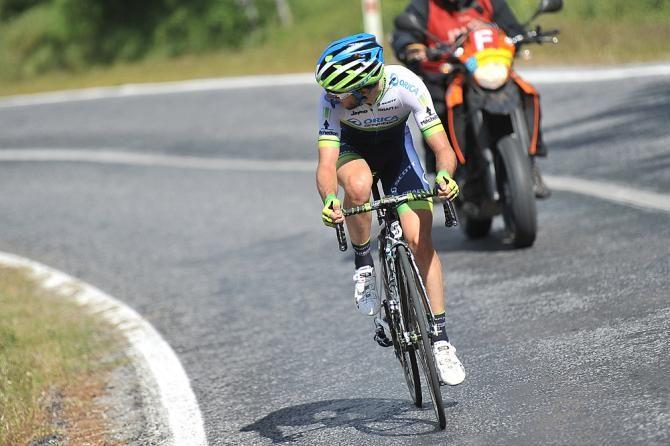 Presidential Cycling Tour of Turkey 2014 - Adam Yates (Orica-GreenEdge) checks behind