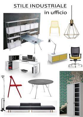 #stile industriale consigliato da #zetaoffice www.zetaoffice.com