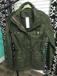 Stitch Fix Market and Spruce Chaplin Hooded Anorak Cargo Jacket October 2015 Review PetiteMomLiving