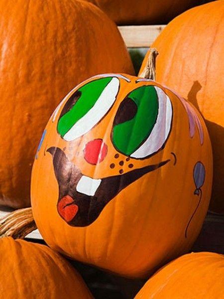 83 Best Painted Pumpkins Images On Pinterest Pumpkin