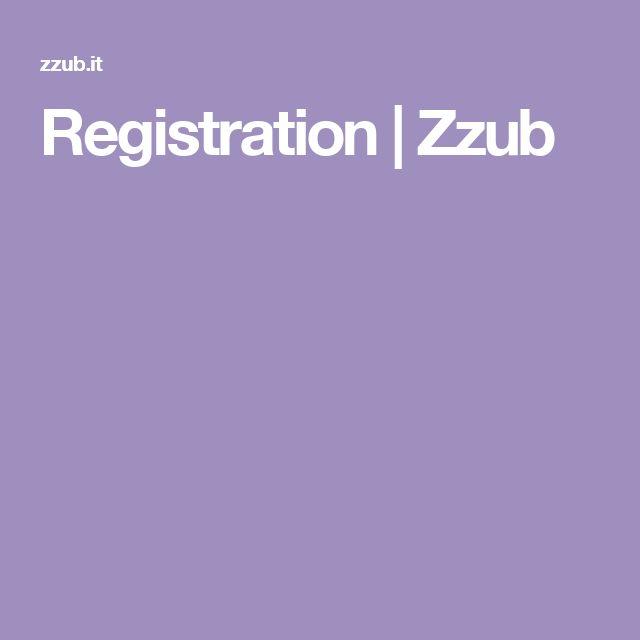 Registration | Zzub