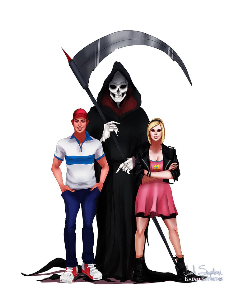 Cartoon Characters Grown Up : All grown up billy and mandy by isaiahstephens viantart