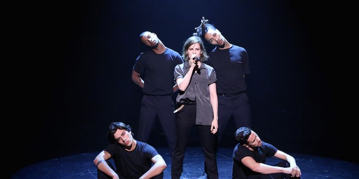 "Watch Christine and the Queens Perform ""Tilted"" on ""Fallon"" - Christine and the Queens was the musical guest on last night's ""The Tonight Show Starring Jimmy Fallon."" She performed ""Tilted"" from her 2015 self-titled album. Watch the performance below. Read Pitchfork's Icebreaker interview with Christine and the Queens. https://plus.google.com/+Indiemusicpluspromo/posts/gGNBEJuQUGC"