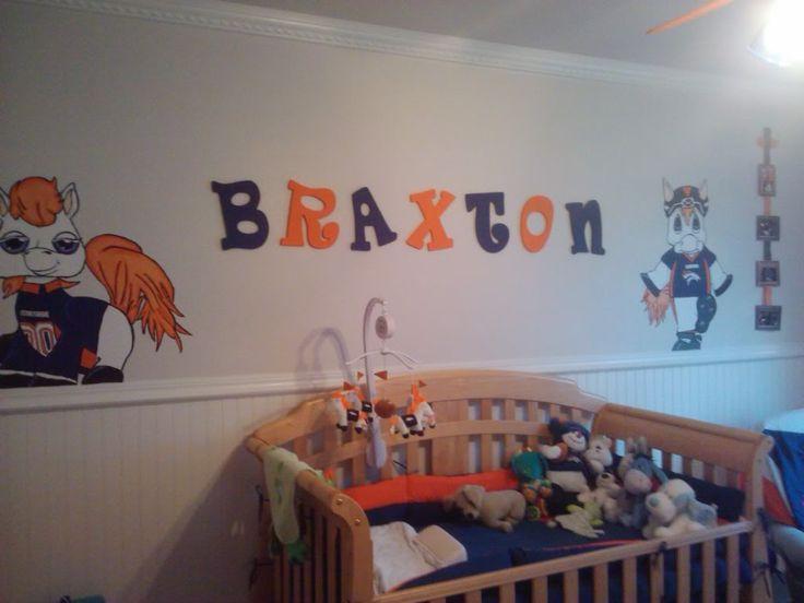 17 best images about denver broncos baby fun on pinterest for Denver broncos bedroom ideas