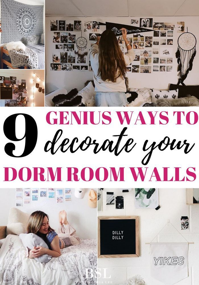 17 Surprising Diy Wall Art Ideas Dorm Room Wall Decor Dorm Room