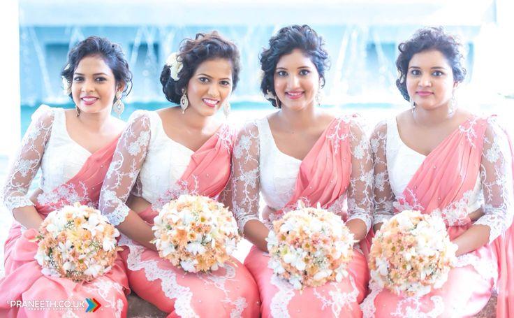 Gorgeous brides maids ❤️❤️ by Chandimal Jayasinghe