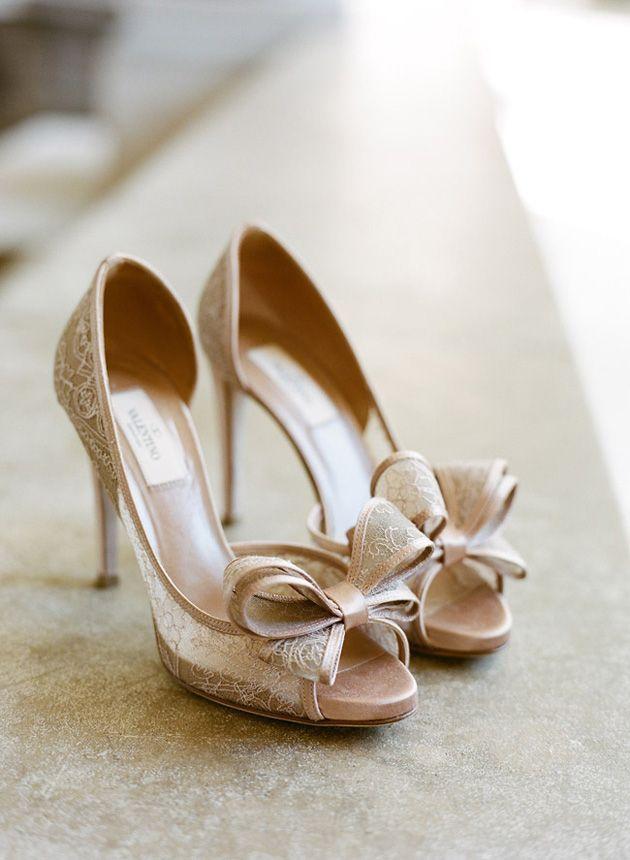 dreamy lace Valentino's! | Bridal Accessories
