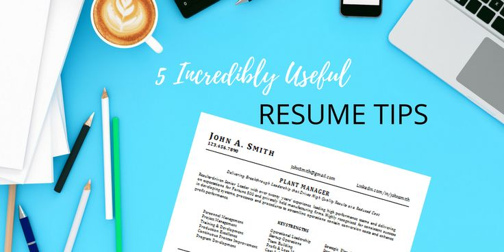 Are you getting interviews with your resume? If you are, then don't change a thing.   However, if you are not getting interviews, it may be time to streamline your resume format and make it work better for you.   Here are 5 tips for choosing the best resume format...