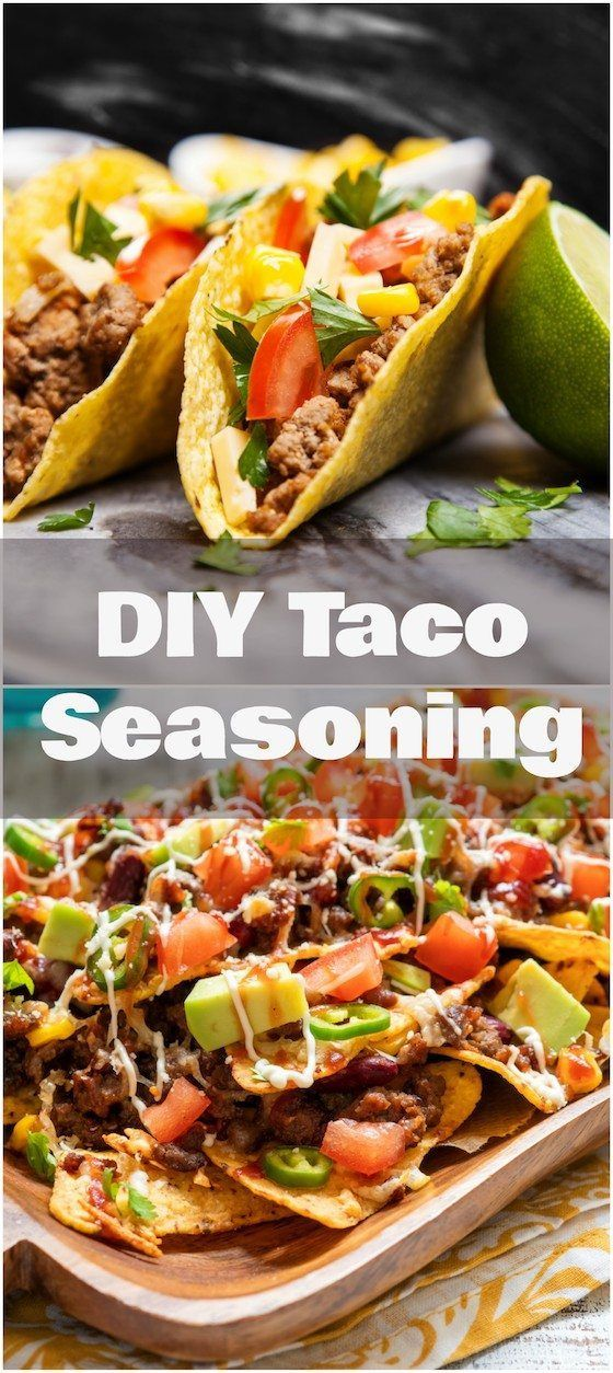 Make your own DIY Taco Seasoning. This has just a few ingredients! It's simple and easy!