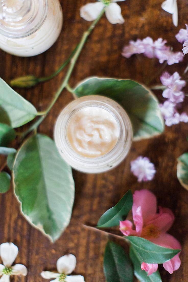 DIY: essential oil body butter