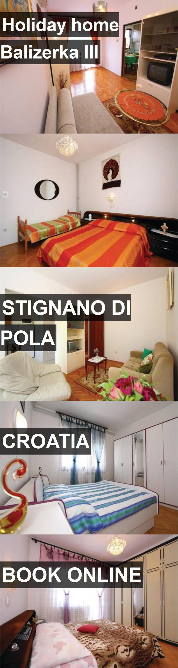 Hotel Holiday home Balizerka III in Stignano di Pola, Croatia. For more information, photos, reviews and best prices please follow the link. #Croatia #StignanodiPola #travel #vacation #hotel