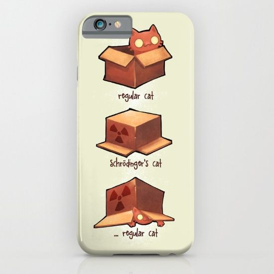 Schrödinger's cat iPhone
