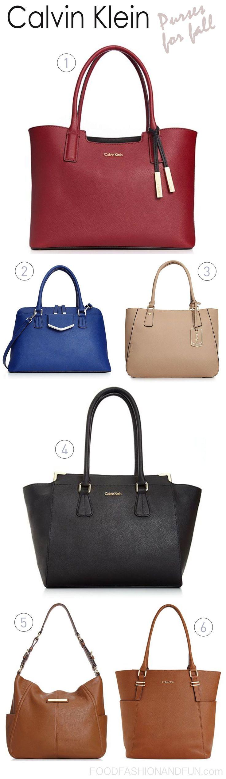 Calvin Klein purses for #fall