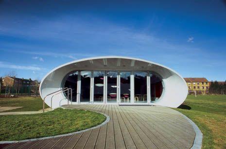 Kindergarden  Architect: Future Systems