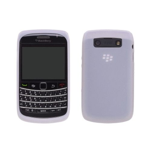 OEM Blackberry 9700, 9780 Bold Rubberized Skin Silicon Case, White
