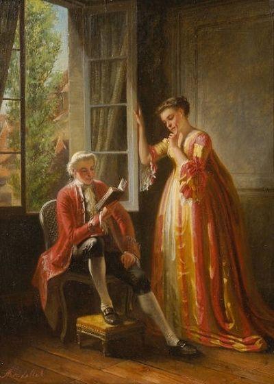Adolphe Montfallet (1816-1900) artist | Odon Wagner Gallery Toronto