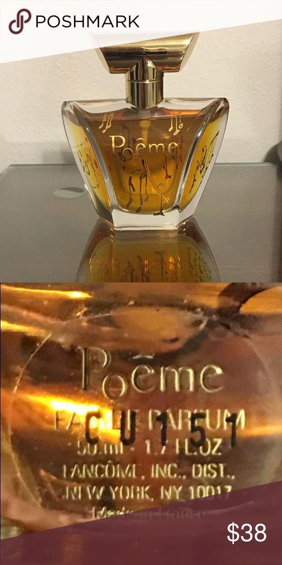 POEME BY LANCOME EDP 1.7 OZ PERFUME 97% FULL POEME BY LANCOME EAU DE PARFUM 1.7 OZ 97% FULL Lancome Makeup