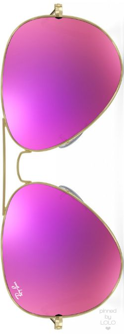 Ray Ban Aviator Magenta Flash | LOLO❤︎
