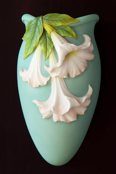 Angel Trumpet Wall Vases