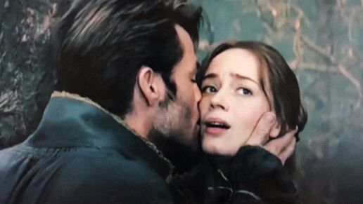 Into the Woods, Prince Charming and the Bakers wife (Chris Pine, Emily Blunt)